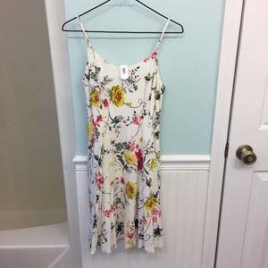 NWT Old Navy Fit & Flare Floral Cami Dress Size S